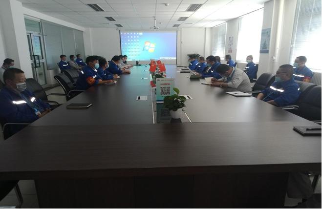 """准东环境公司开展中层干部年中任职考核暨""""精细化管理""""工作启动"""